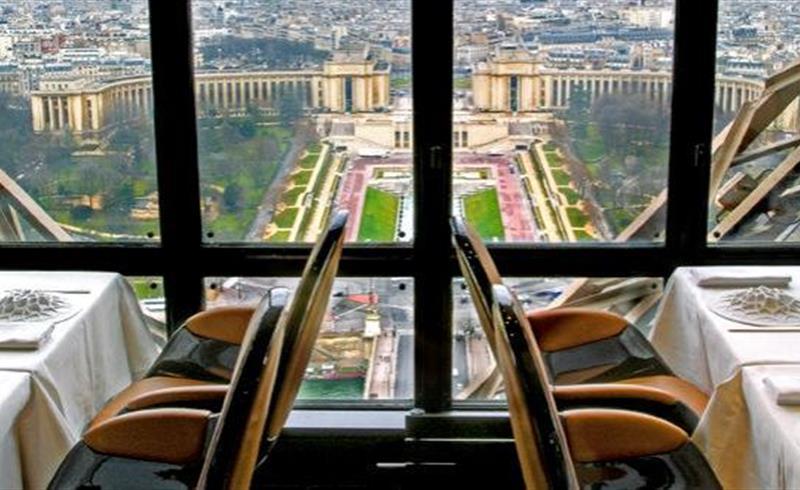 Restaurant Le Jules Verne Tour Eiffel